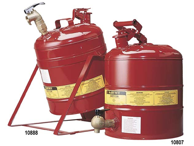 Safety Cans – Steel with Dispensing Tap