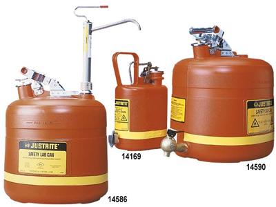 Safety Cans – Poly with Dispensing Tap