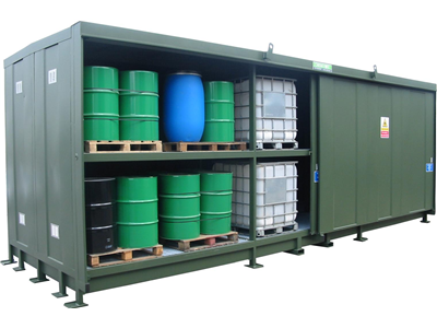 96DSD-L Hazvault Chemical Stores
