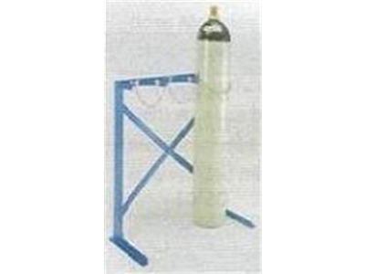 Steel Cylinder Rack - Single Sided | free standing cylinder racks