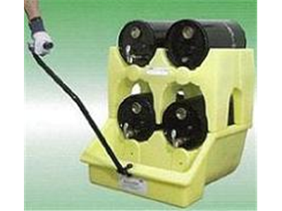Wheeled Mini Poly Rack | Dispensing stations