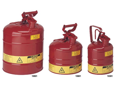 Steel Safety Cans For Flammables Chemstore Ireland