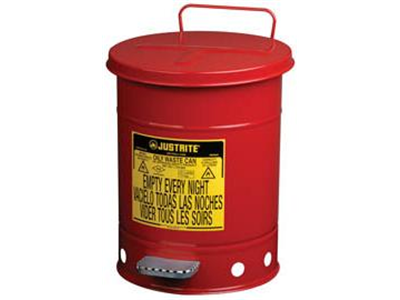 Safety Bin for Solvent Wipes-9200