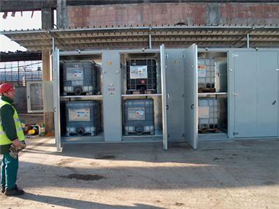 External Drum Heating Cabinet