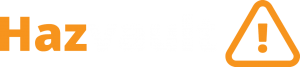 Hazvault logo white