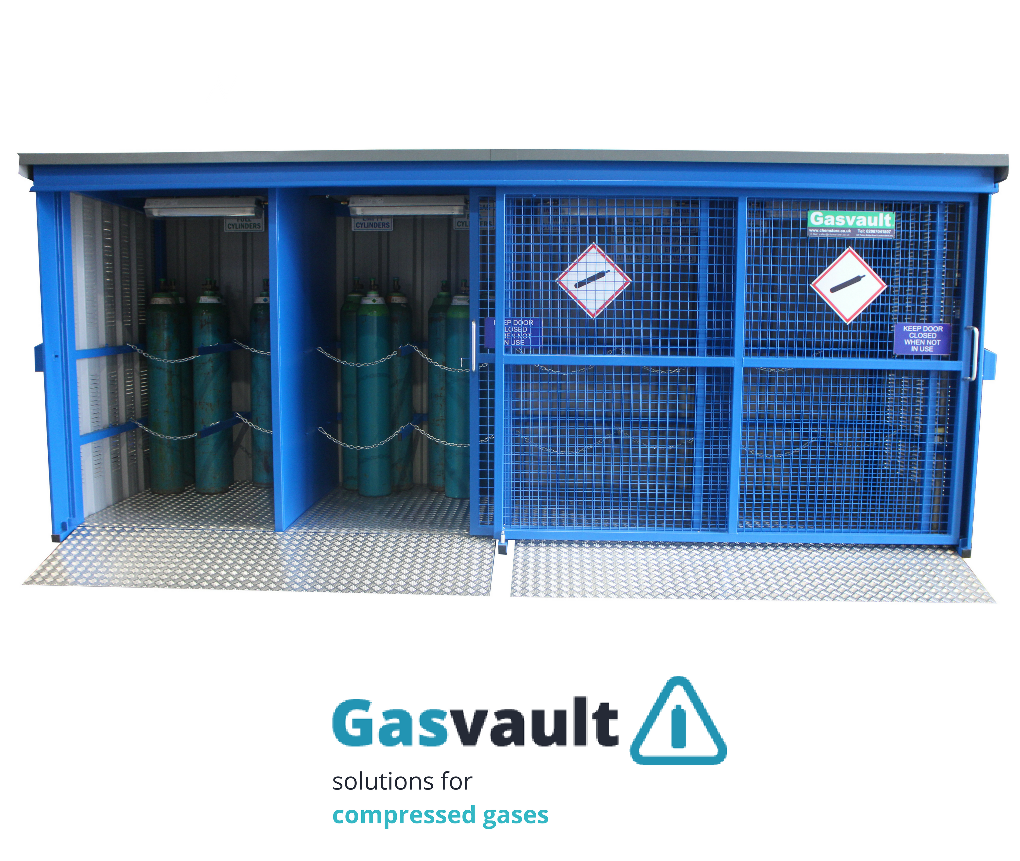 Gasvault Solutions For Compressed Gases Chemstore Ireland