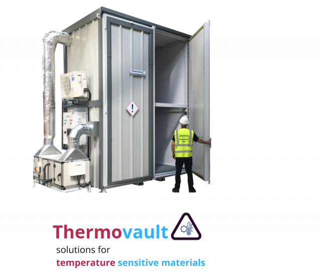 Thermovault – solutions for temperature sensitive materials