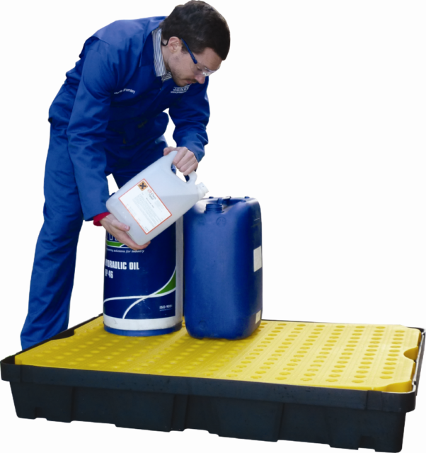 Poly Spill Trays