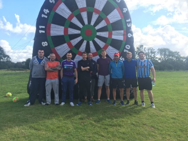 Footgolf team building