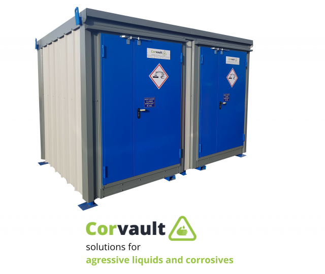 Corvault – solutions for aggressive liquids & corrosives