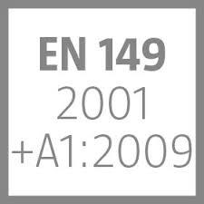 EN 149 2001 +A1:2009 Symbol